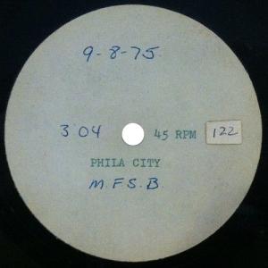 MFSB - Phila City