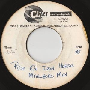 MarlboroMen - Ride On Iron Horse - Impact Sound Acetate